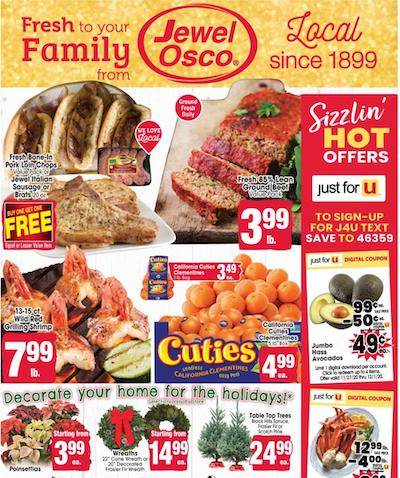 Jewel-Osco Ad Preview Nov 27 - Dec 1, 2020