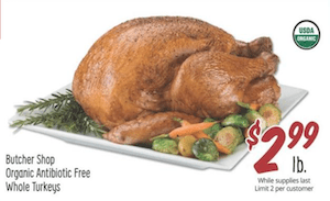 Sprouts Turkey Deal 2020