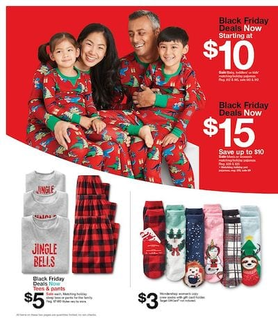 Target Black Friday Ad Clothing Deals 2020