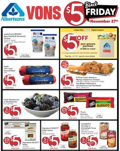 Vons Weekly Ad Preview Nov 27 - Dec 1, 2020