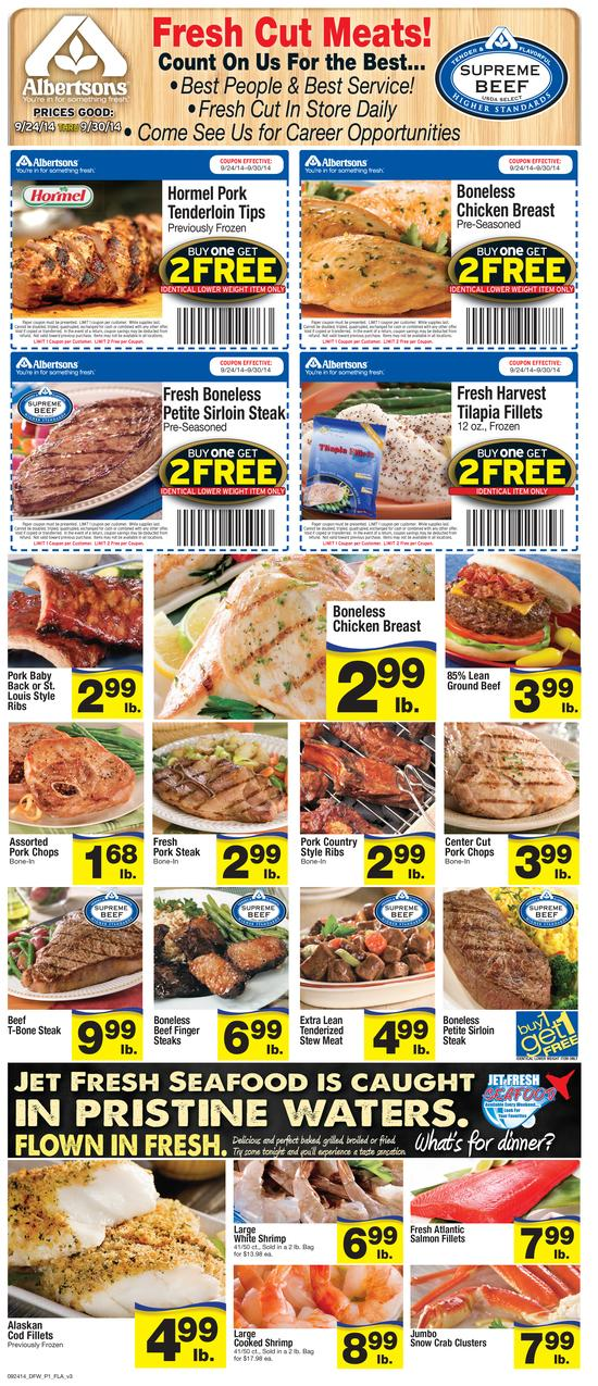 albertsons ad 9 24 weekly offers