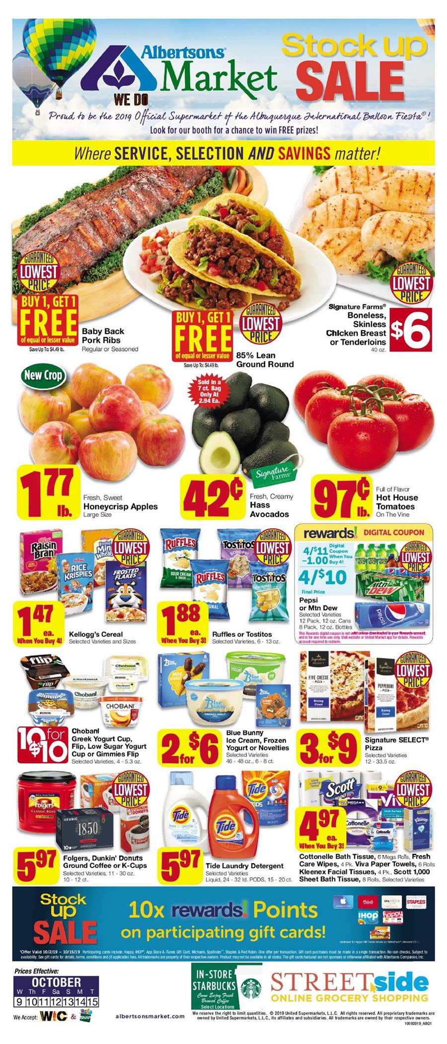 albertsons market weekly ad oct 13 2019