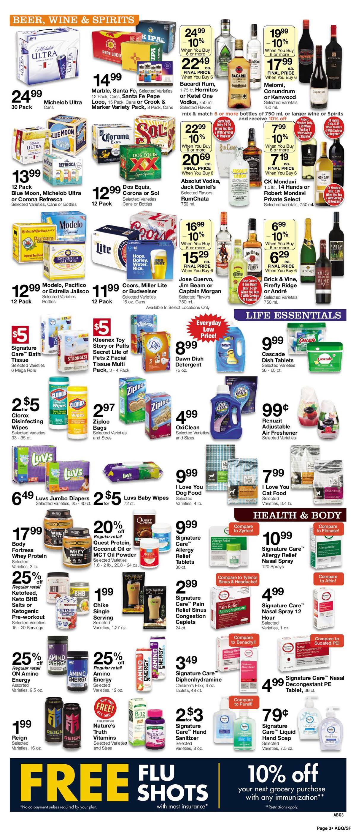 albertsons supermarket weekly ad aug 25 2019