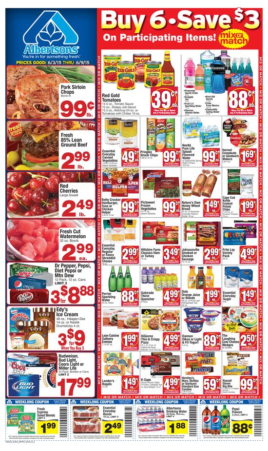 Albertsons Weekly Ad 6 3 2015