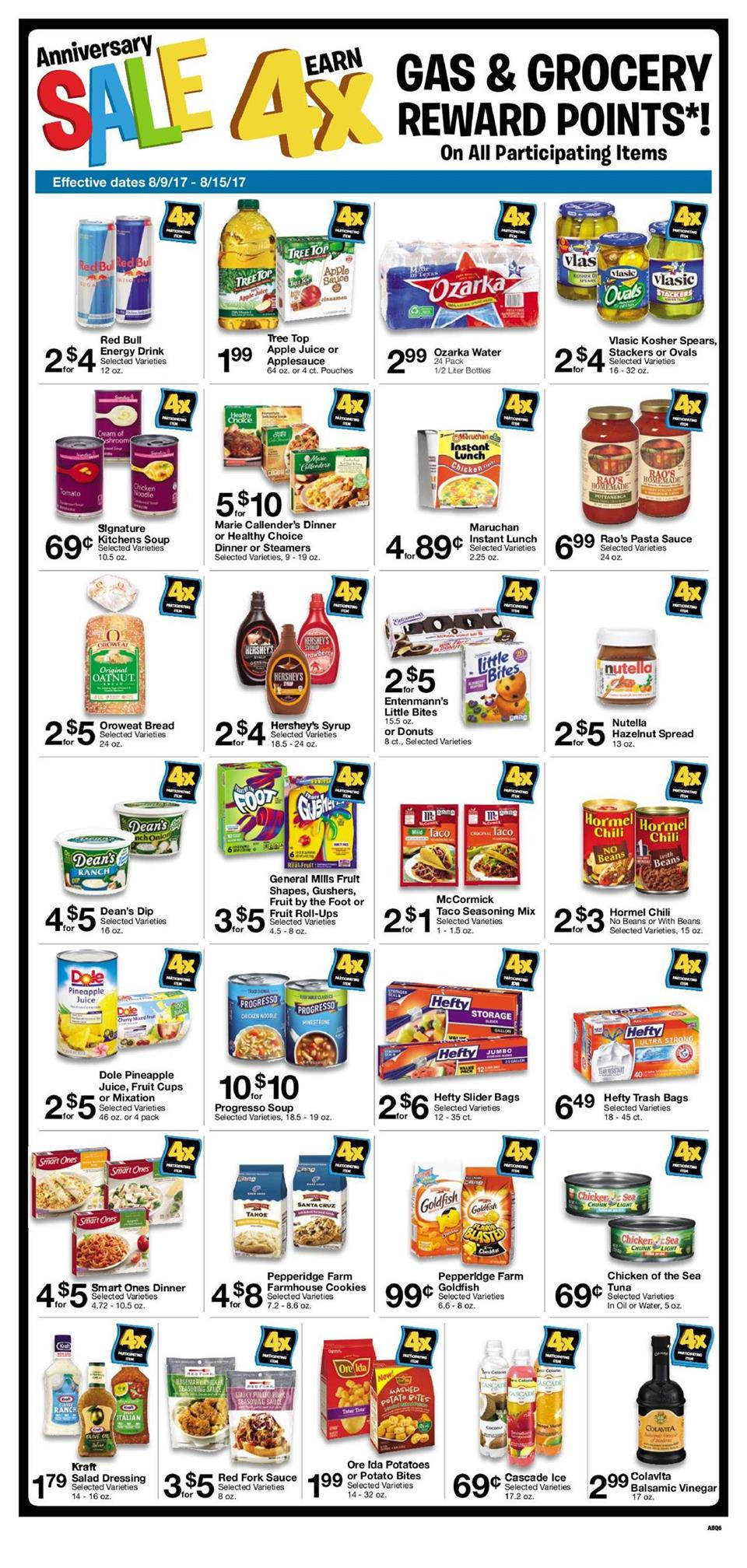albertsons weekly ad august 9 2017
