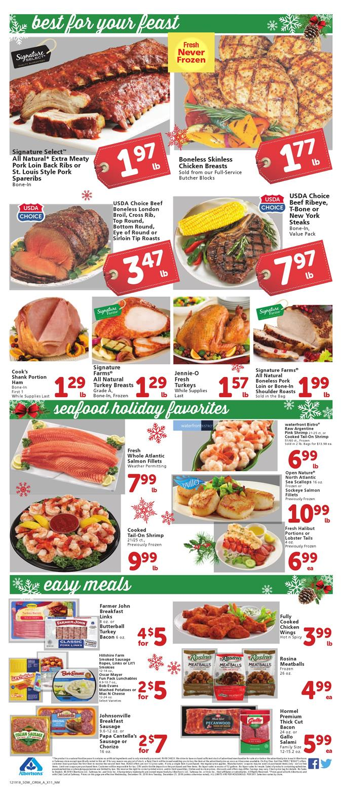 albertsons weekly ad dec 19 2018