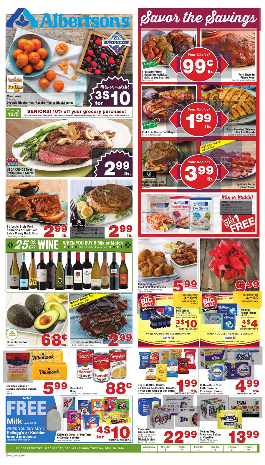 albertsons weekly ad dec 4 2019