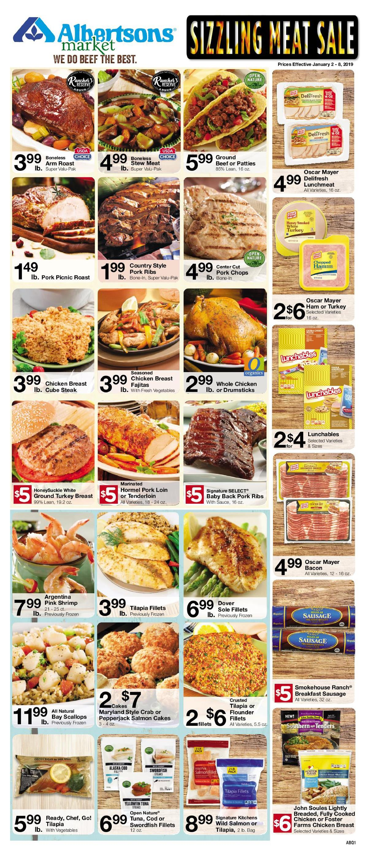 albertsons weekly ad jan 2 2019