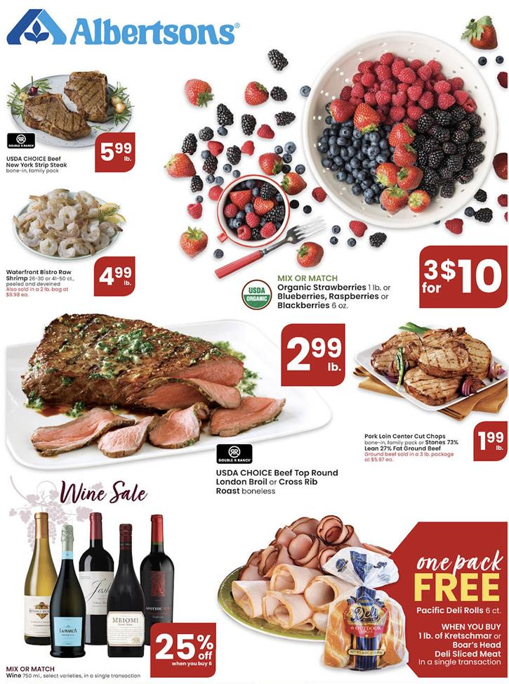 albertsons weekly ad mar 25 2020