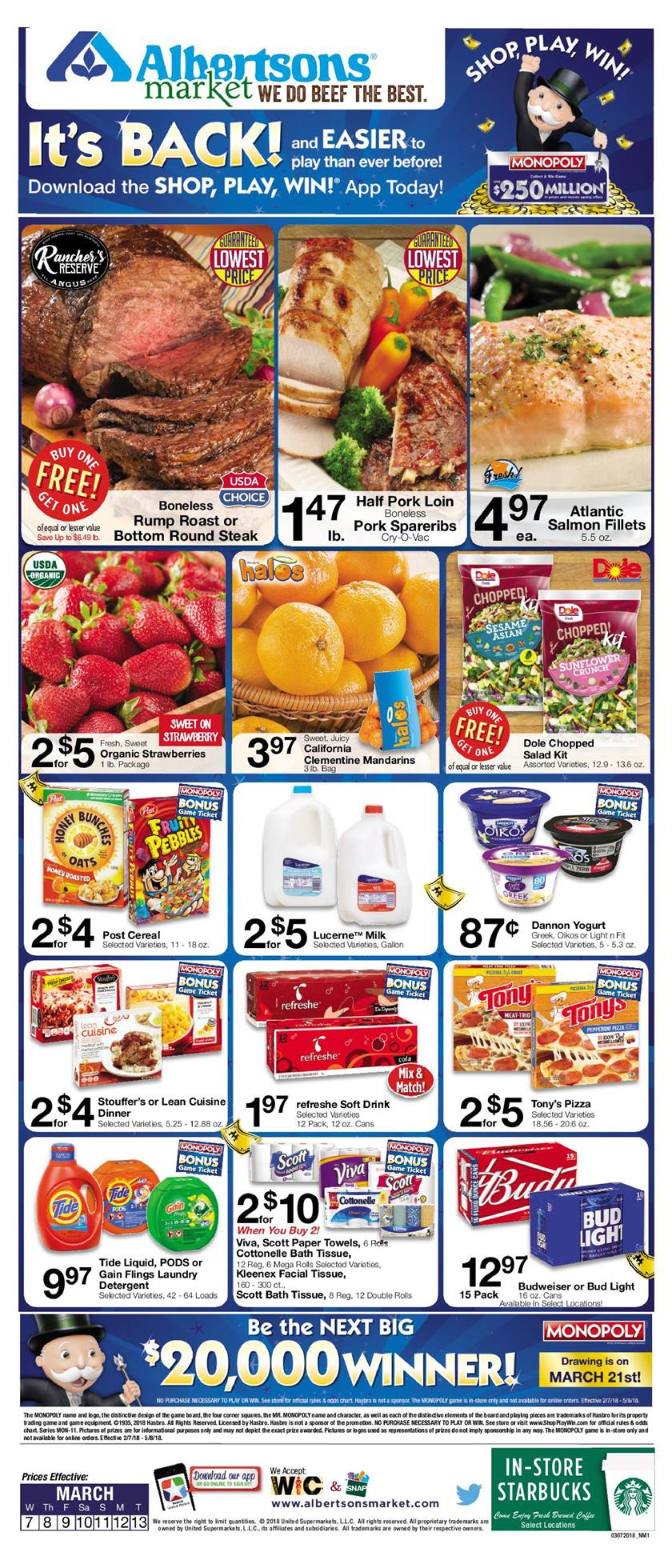 albertsons weekly ad march 7 2018