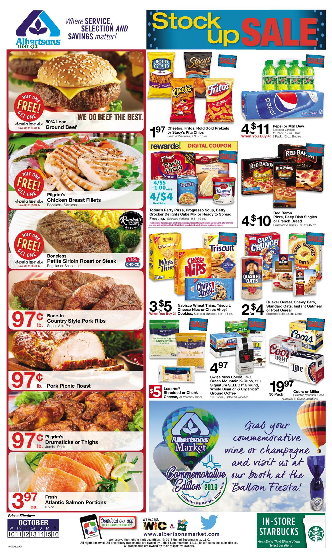 albertsons weekly ad oct 10 2018