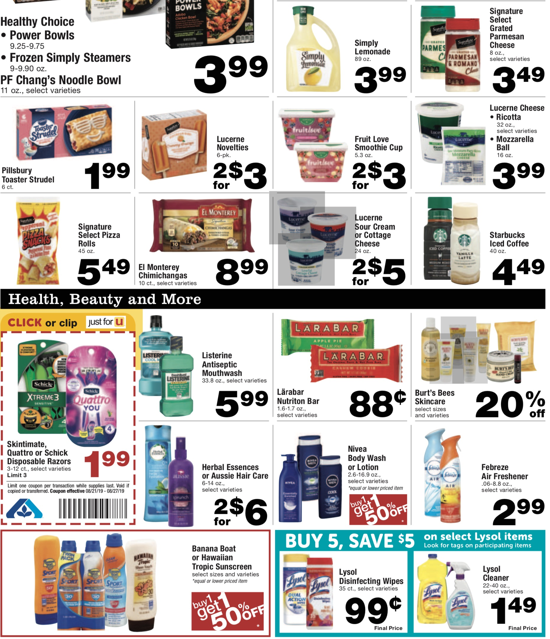 albertsons weekly ad preview aug 21 2019