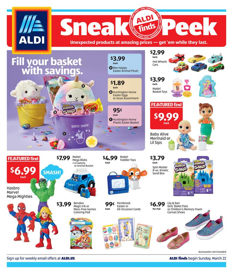 aldi ad in store mar 22 2020