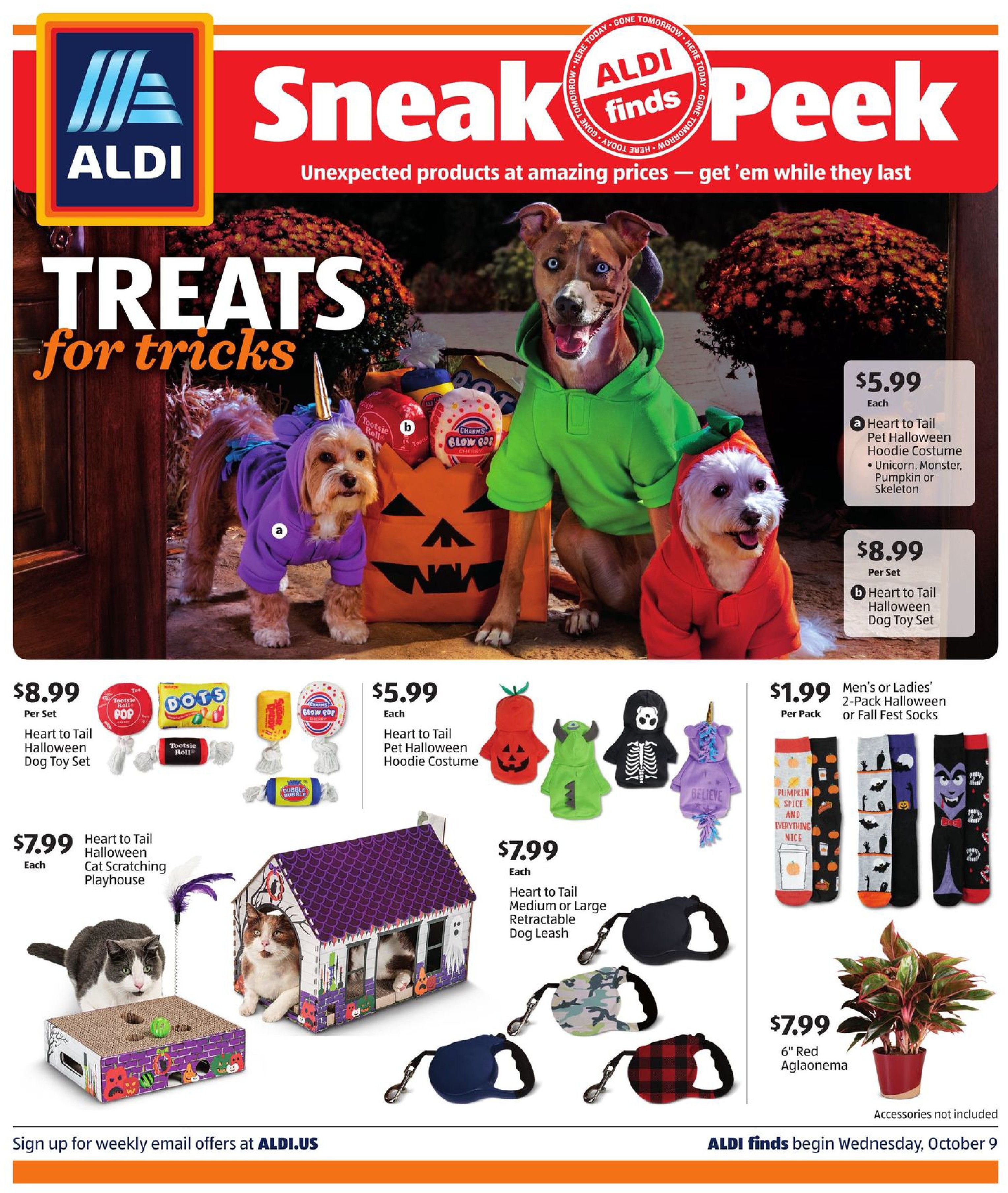 aldi ad in store oct 9 2019