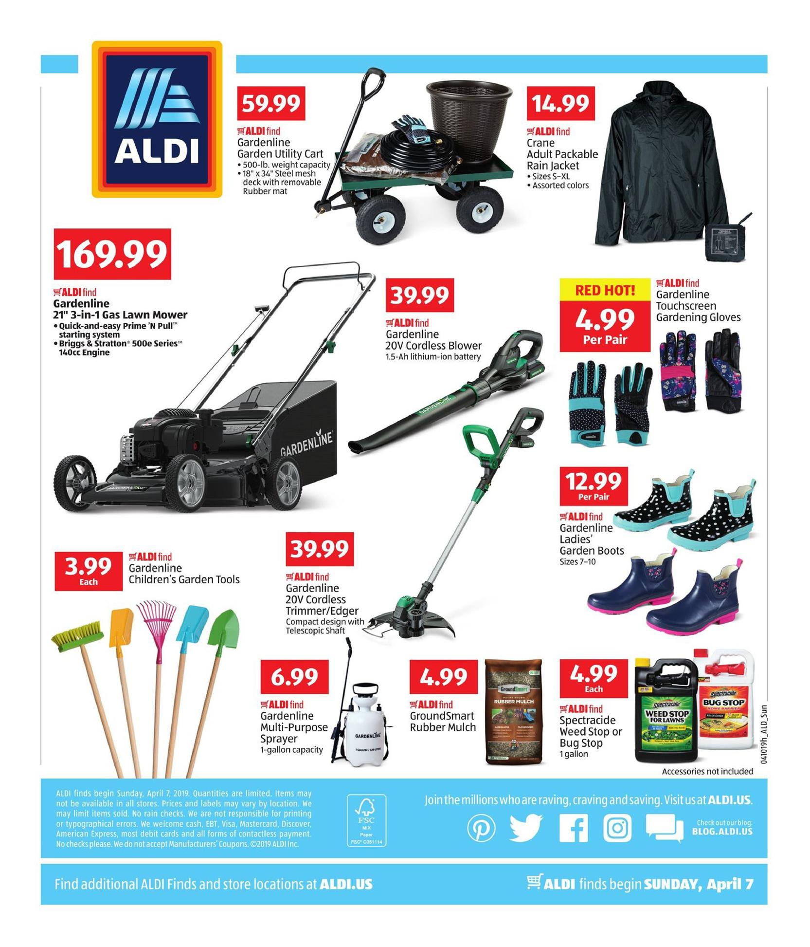 aldi weekly ad apr 7 14 2019 page 4. Black Bedroom Furniture Sets. Home Design Ideas