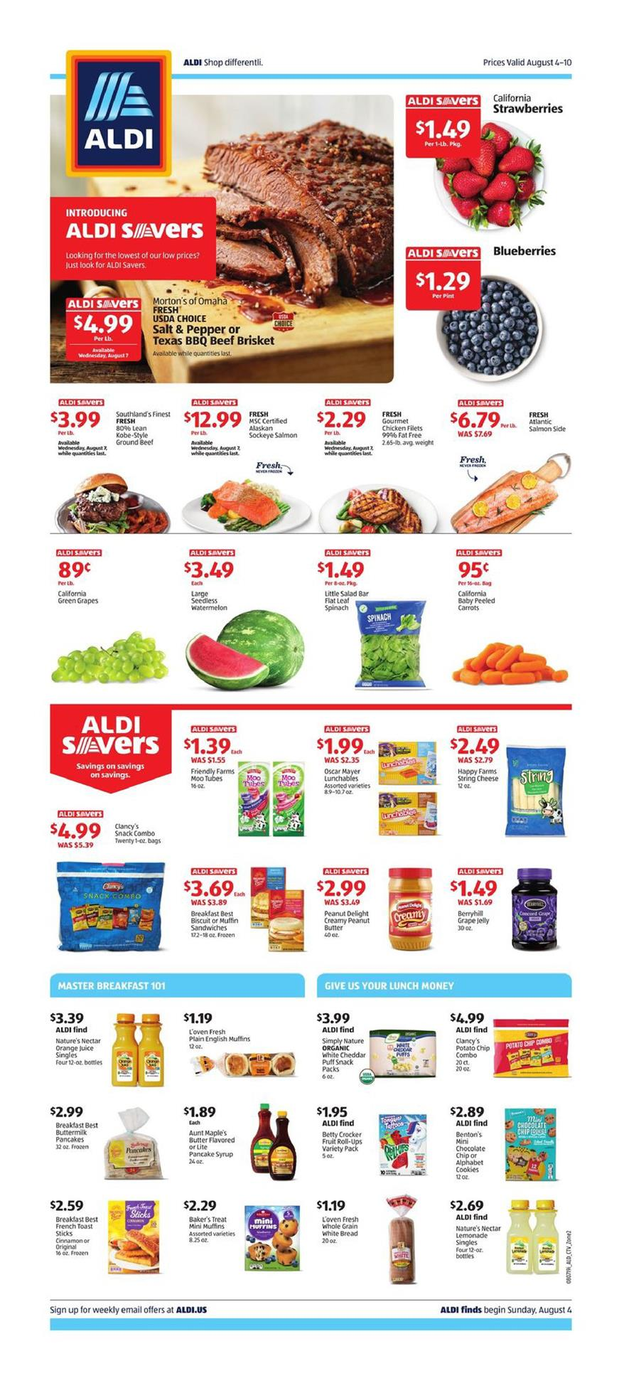 aldi weekly ad aug 4 2019