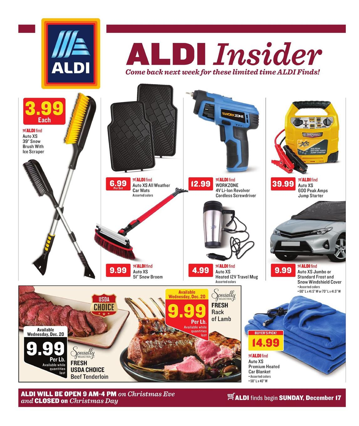 ALDI Weekly Ad December 17 - 23, 2017
