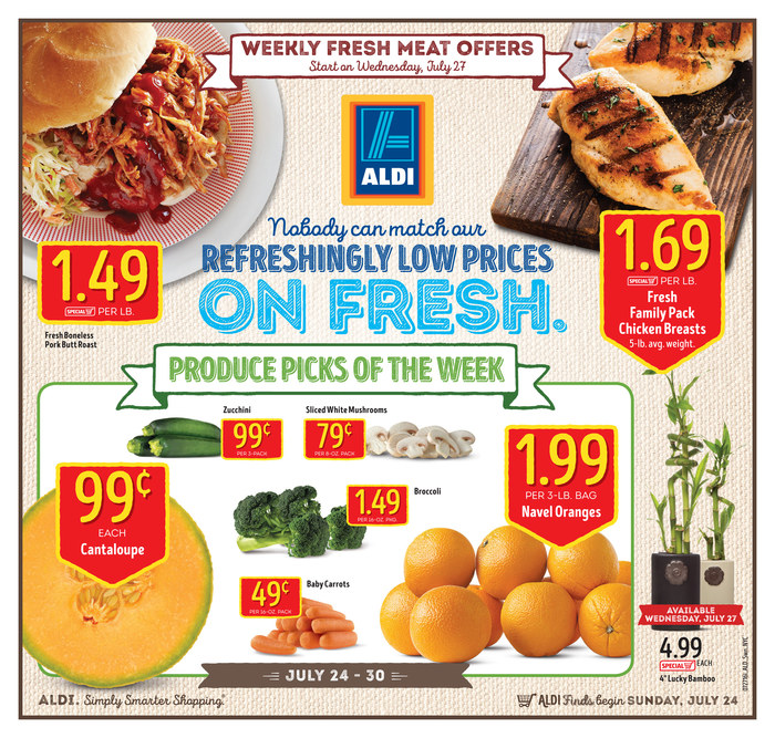 aldi weekly ad jul 24 jul 30 2016. Black Bedroom Furniture Sets. Home Design Ideas