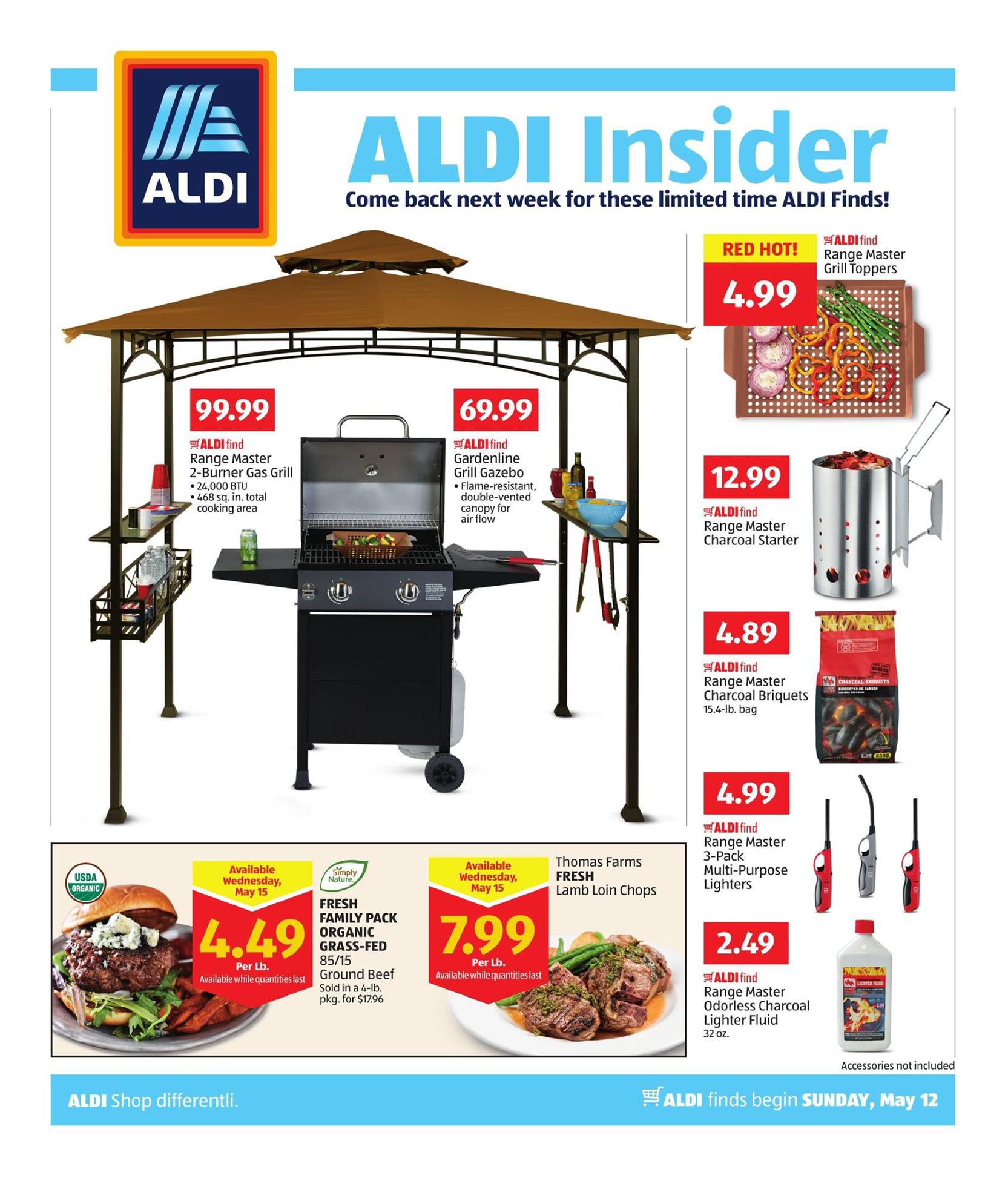 aldi weekly ad may 12 19 2019. Black Bedroom Furniture Sets. Home Design Ideas