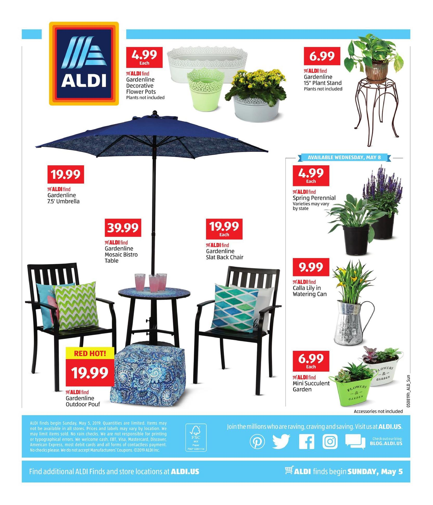 aldi weekly ad may 5 11 2019 page 4. Black Bedroom Furniture Sets. Home Design Ideas