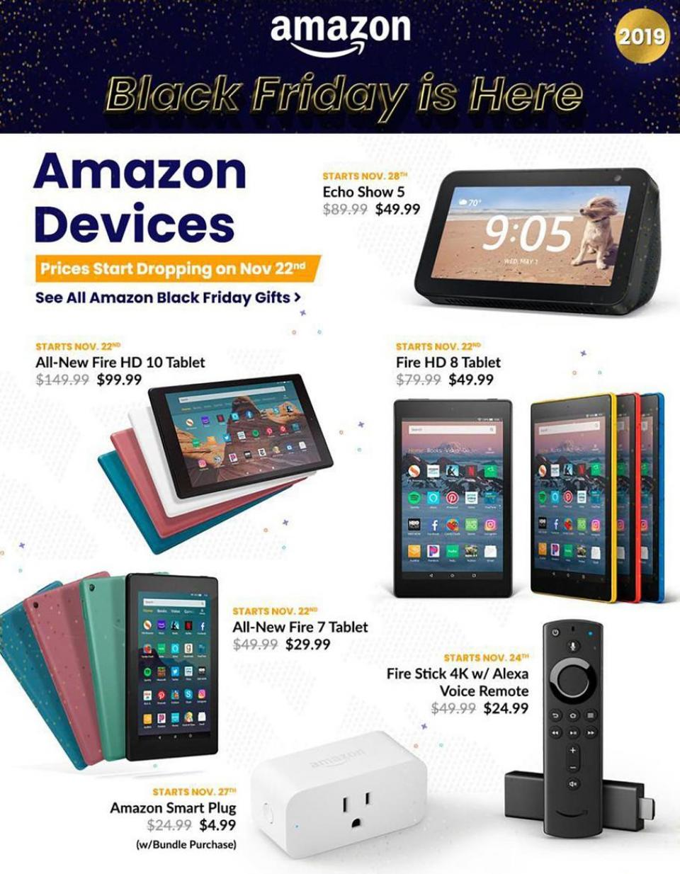 Amazon black friday ad