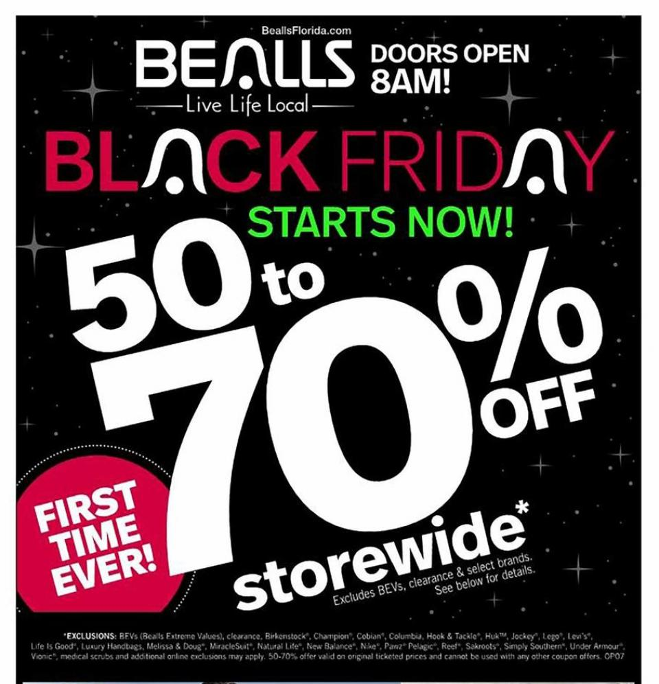 Bealls black friday ad
