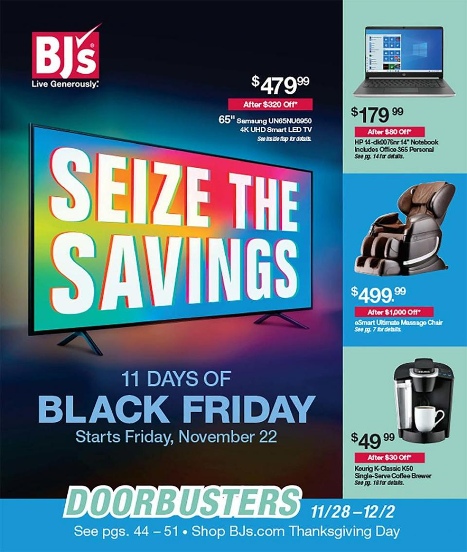 BJs Wholesale black friday ad