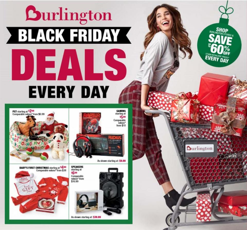 Burlington black friday ad