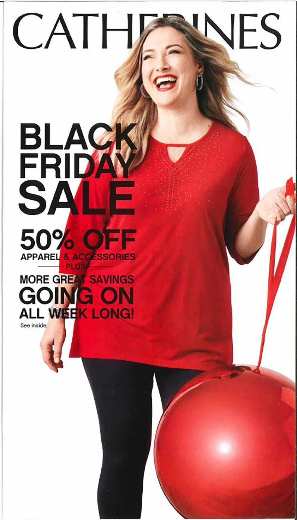 Catherines black friday ad