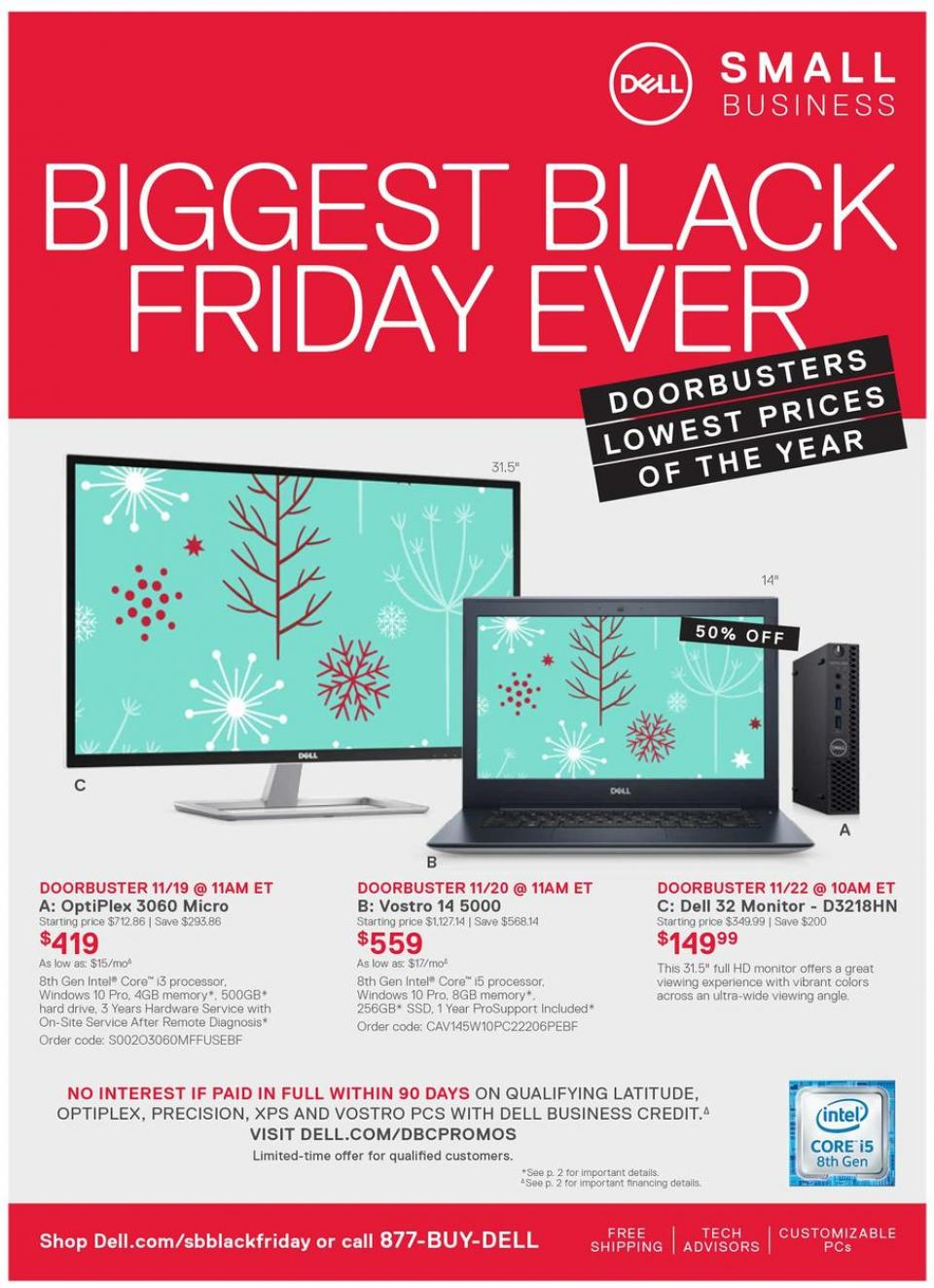 dell business black friday ad 2018