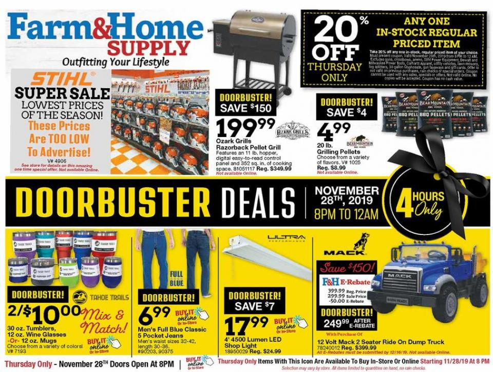 Farm House black friday ad
