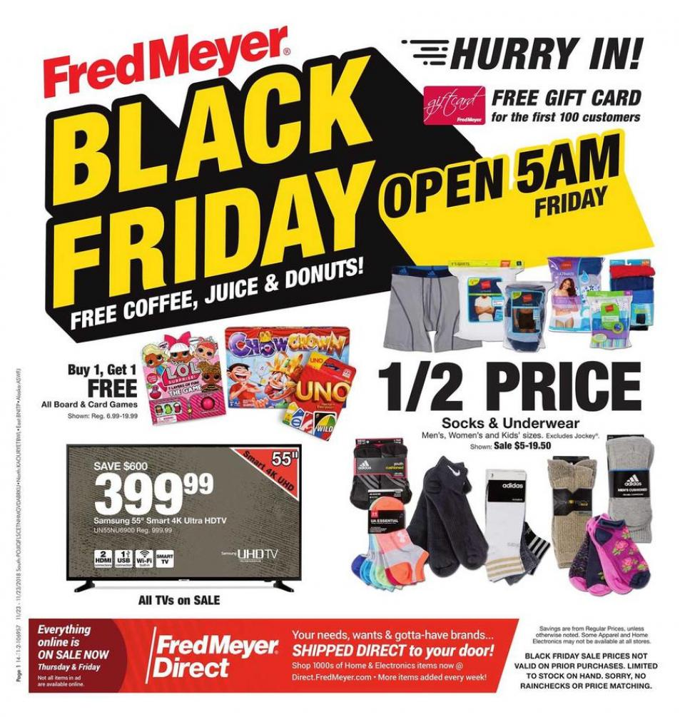 fred meyer black friday ad 2018. Black Bedroom Furniture Sets. Home Design Ideas