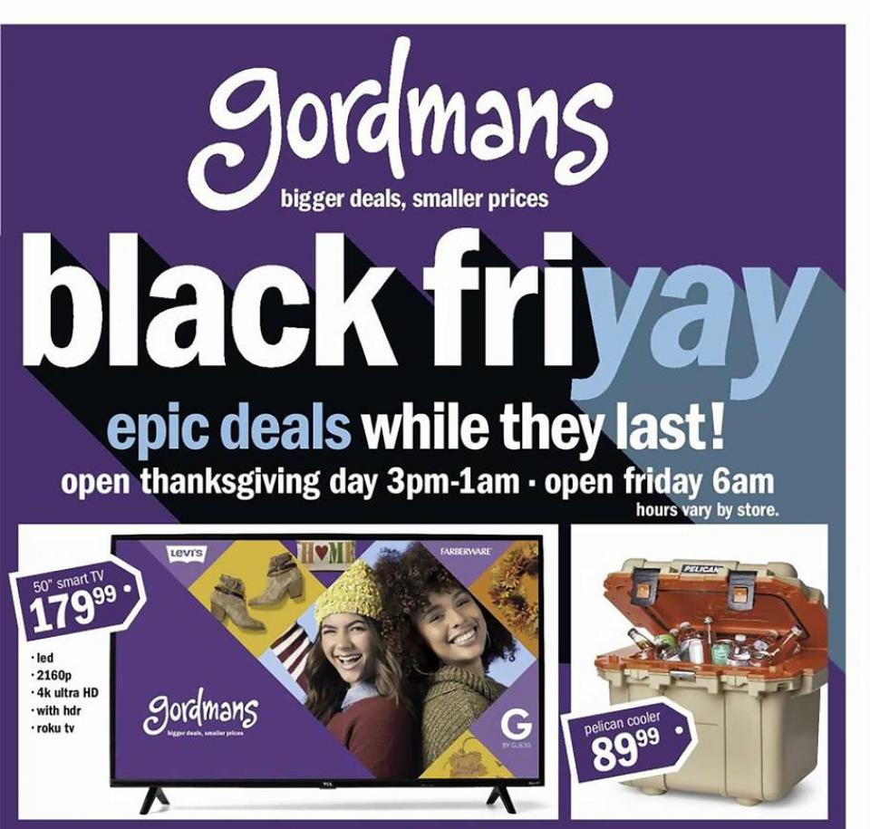 Gordmans black friday ad