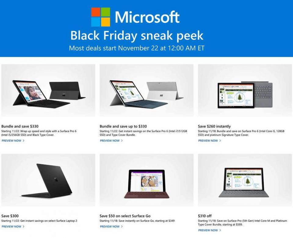 microsoft black friday ad 2018