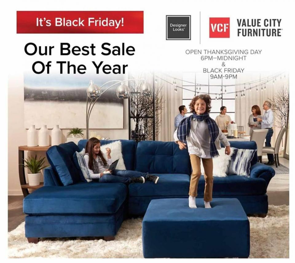 Value City black friday ad