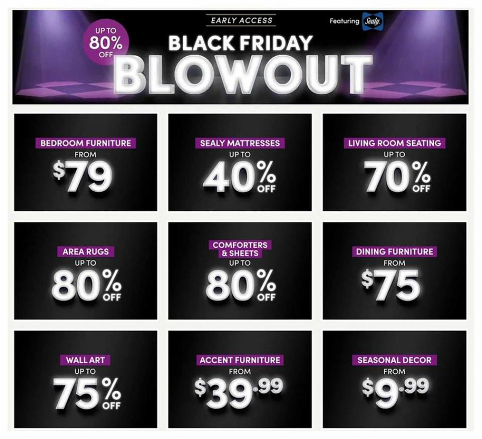 Wayfair black friday ad