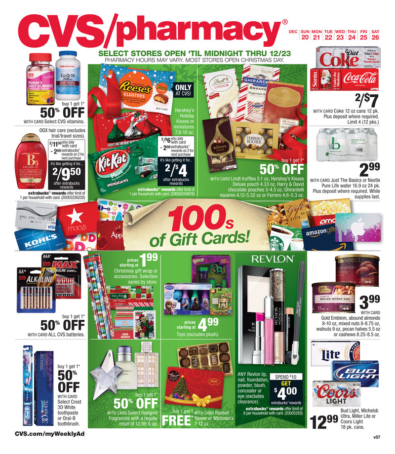 cvs ad christmas gifts 2015