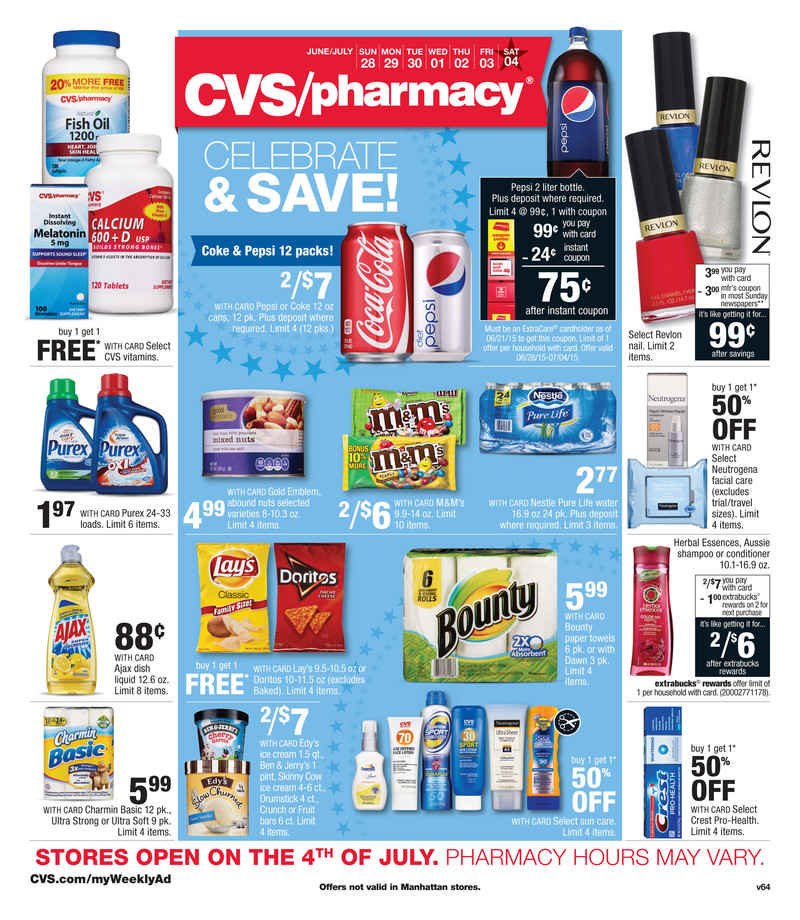 cvs weekly ad 6  28 2015