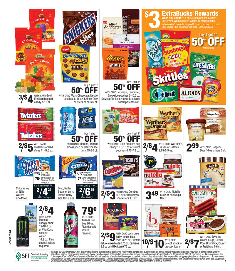 cvs weekly ad 8 9 2015