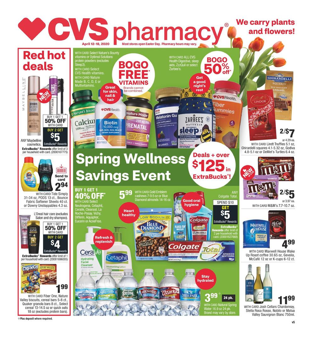 cvs weekly ad apr 12 2020