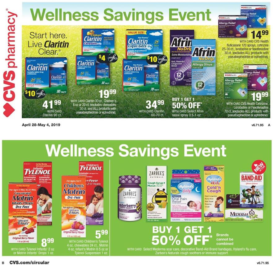 cvs weekly ad apr 28 2019