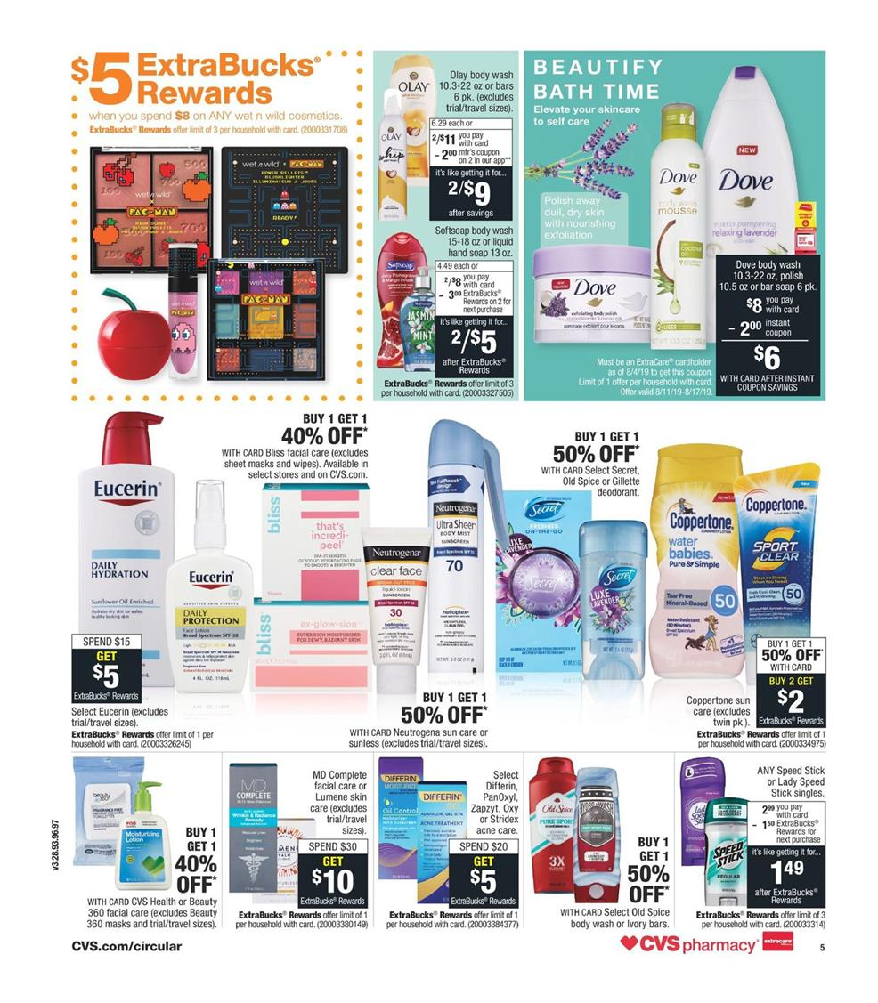 cvs weekly ad aug 11 2019