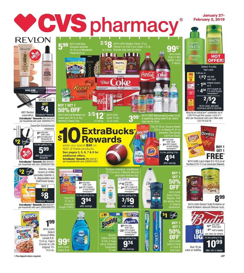 cvs weekly ad jan 27 2019