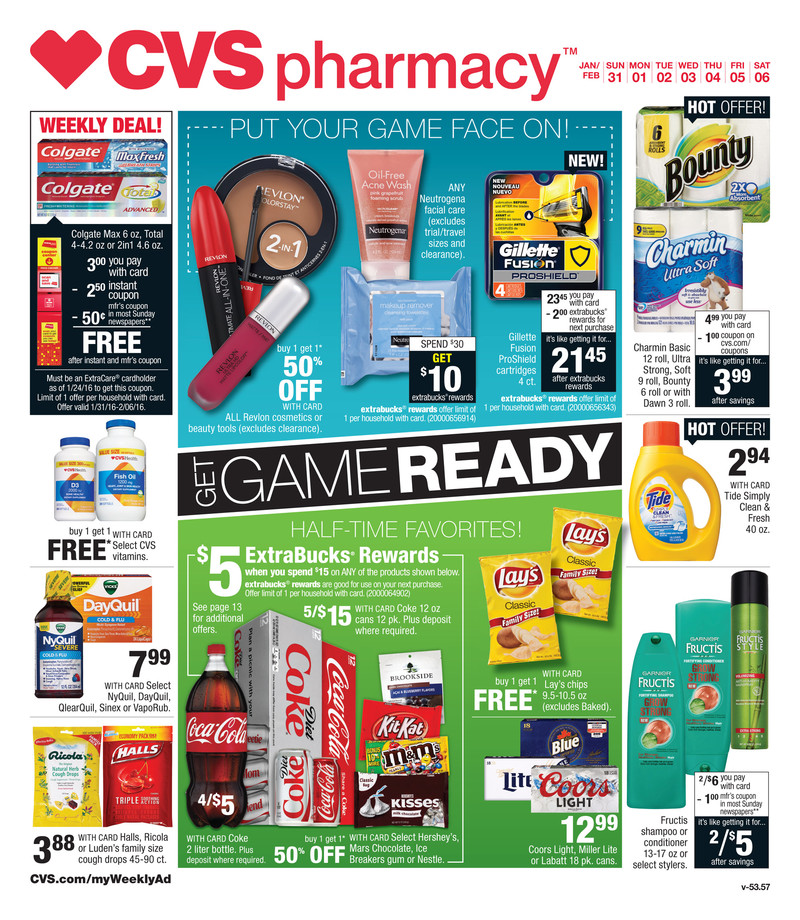 cvs weekly ad jan 31 2016