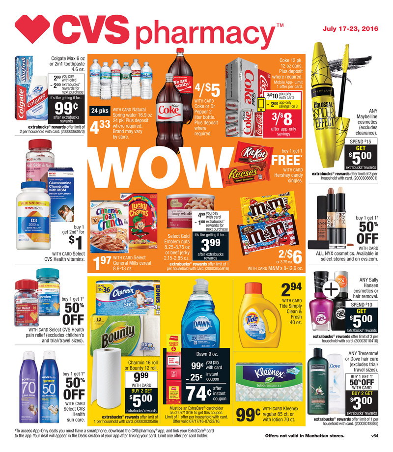 cvs weekly ad jul 17