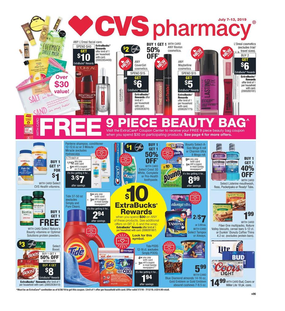 cvs weekly ad jul 7 2019