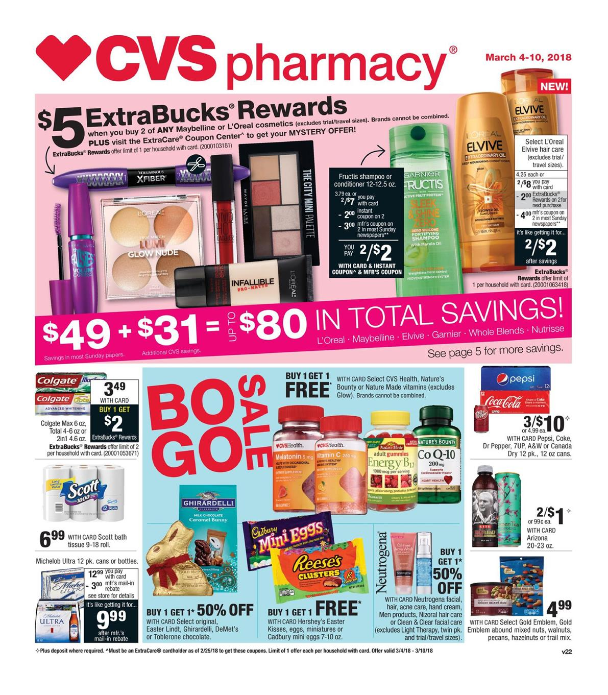 cvs weekly ad march 4