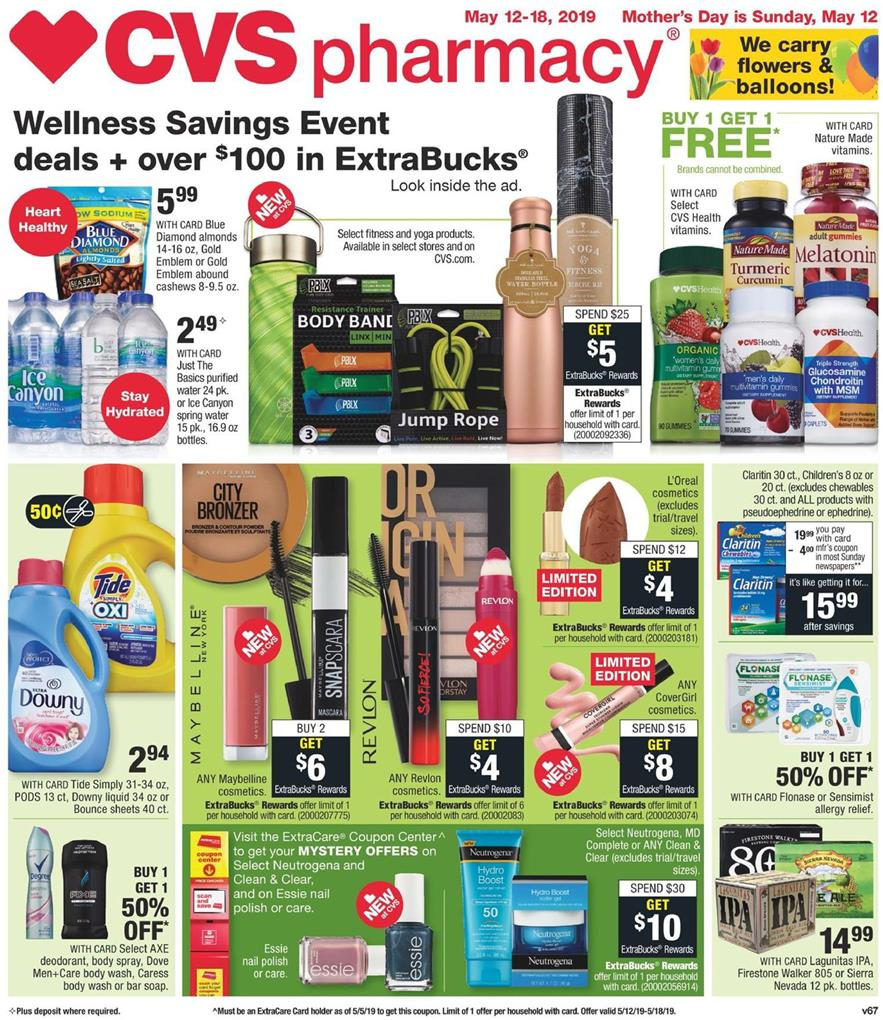 cvs weekly ad may 12