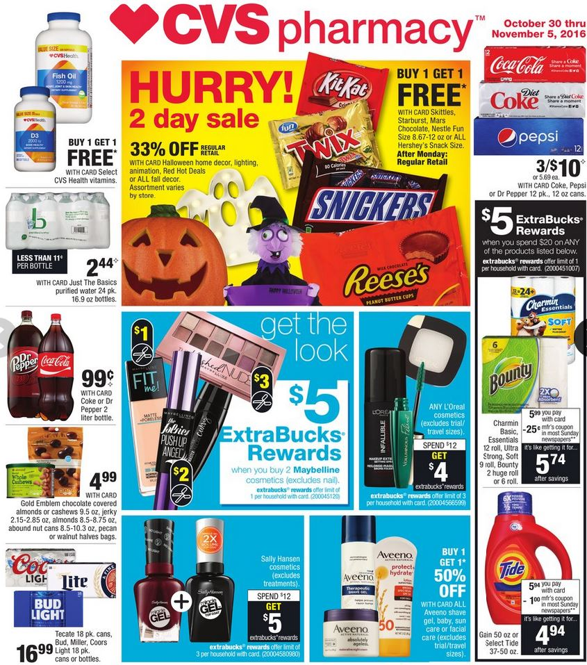 cvs weekly ad oct 30