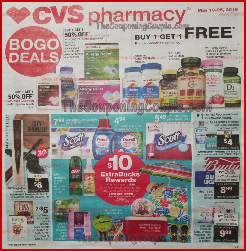 cvs weekly ad preview may 19 2019